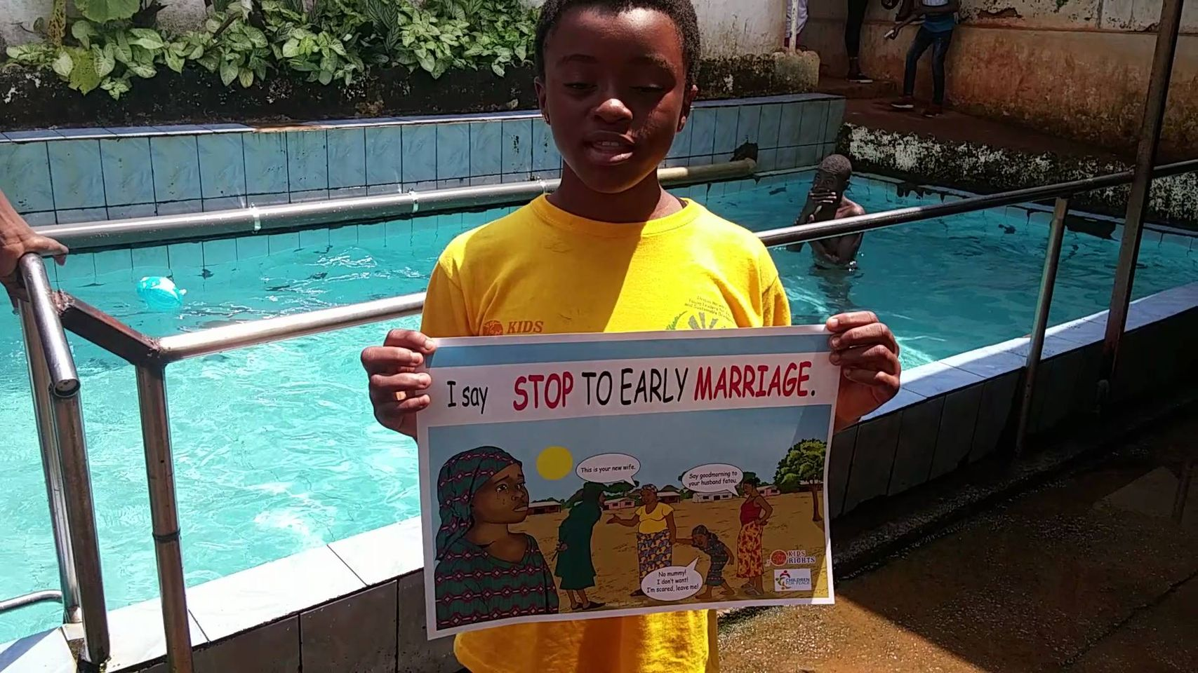 NO TO EARLY MARRIAGE AMONG CHILDREN
